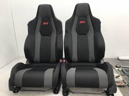 2018 honda civic si sedan oem factory cloth seat covers jdm rare