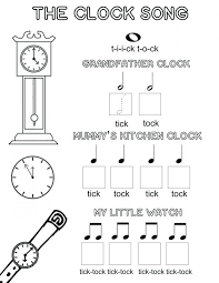 Music Coloring Pages For Kindergarten Archives And Page Notes ...