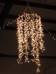 Cool DIY Hanging Light Fixtures Best Ideas About Diy Chandelier On  Pinterest Christmas
