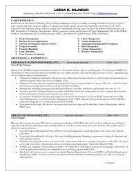 Project Management Resume Skills Project Management Resume Sample