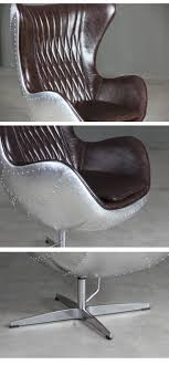 egg office chair. Egg Office Chair. Spitfire Aluminium Leather Chair For R