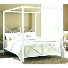 Wood Canopy Bed Wooden Diy Frame – Peterjan