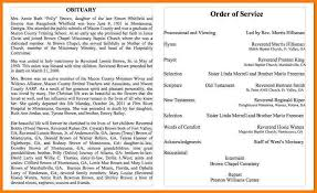sample of obituary 5 sample obituary letter format for