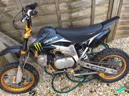 used pitbike 140cc lifan with bbr frame in aylesbury for 350 00
