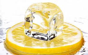 Картинки по запросу Лед с соком лимона