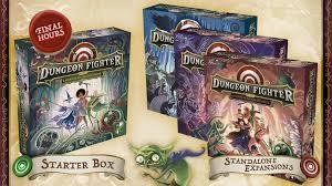 <b>Dungeon Fighter</b> by Horrible Guild — Kickstarter