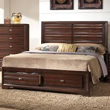 Crown Mark Stella Queen Storage Bed - Item Number: B4550-Q-HBFB+