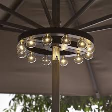 homemade lighting. Patio Umbrella Light Home For You And Homemade Lights Ideas Trends Marquee Lighting L