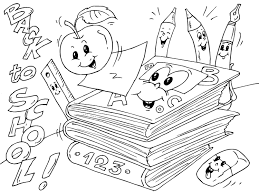 Small Picture Coloring page back to school img 22690