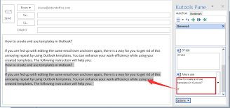Template Email Outlook How To Create And Use Templates In Outlook