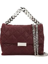 Stella McCartney Quilted 'Beckett' Shoulder Bag - Farfetch & Stella McCartney quilted 'Beckett' shoulder bag ... Adamdwight.com