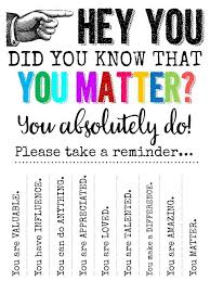 You Matter Quotes Adorable Technology Rocks Seriously Hey YOUDid You Know That YOU MATTER