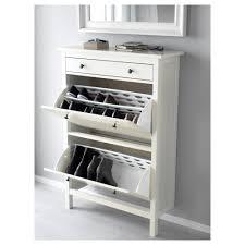 Ikea Shoe Rack Hemnes Shoe Cabinet With 2 Compartments White 89x127 Cm Ikea
