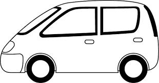コンパクトカー 01 乗り物のイラスト素材 イラストポップ