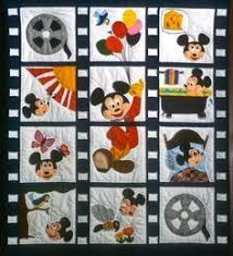 Amazon.com: <b>Disney</b> Vintage Mickey <b>Flannel</b> Filmstrip Linear ...