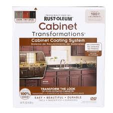 Rustoleum Kitchen Cabinets Rust Oleum Transformations Dark Color Cabinet Kit 9 Piece 258240