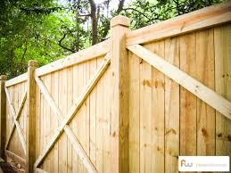 the college wood privacy fence