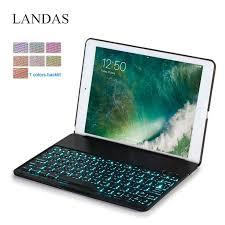 <b>Landas</b> Backlit Keyboard For <b>iPad</b> Air 2 <b>Case Cover</b> Wireless ...