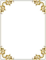 gold frame border png. Gold Frame Border Png N