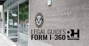 Sample Vawa Cover Letter Immigration Relief For Abused Noncitizens Form I 360