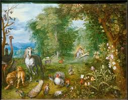garden of eden with the creation of eve