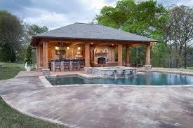 backyard cabana pool house plans pool