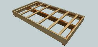bed in a box plans. Bed Frame Woodworking Plans Here Are Fifteen Dreamy And Easy DIY Designs I Wanted To Build A New Anyway This Woodworkers List Of In Box O