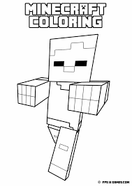 Small Picture 48 best MINECRAFT COLORING PICTURES images on Pinterest