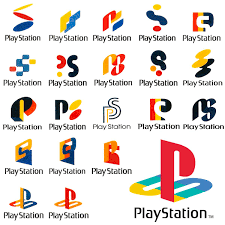 sony playstation logo. early playstation 1 logo concepts released by sony
