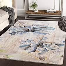 haocoo area rugs 4 x5 large modern
