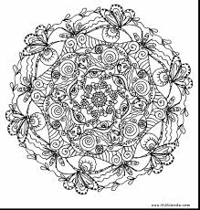 Flower Coloring Pages For Adults Printable At Getdrawingscom Free