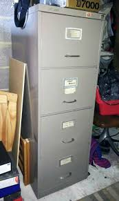 vine roneo vickers 4 drawer filing cabinet
