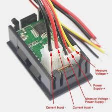 volt amp meter wiring diagram for led wiring diagram libraries mini dc 10v 10a digital voltmeter ammeter blue red led volt amp volt amp meter wiring diagram