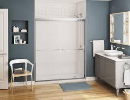maax kameleon 60 x 71 semi frameless shower sliding door 1 4