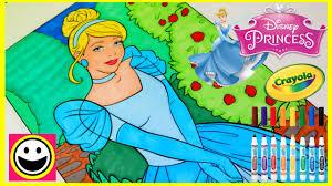 Princess Cinderella Crayola Giant Color By Number Disney