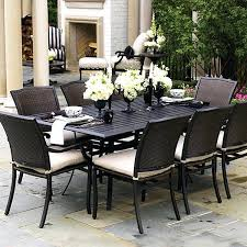 lovely 6 piece patio dining set for lovely round outdoor dining sets for 6 simple ideas