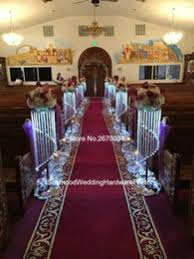 flower stands for weddings. aisle stands weddings flower pillars crystal for big