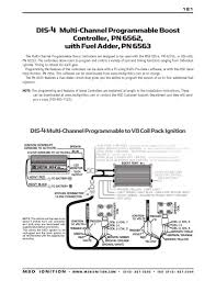 msd ignition wiring diagrams msd dis 4 plus to multi channel programmable boost controller 6562 fuel adder 6563 part 1