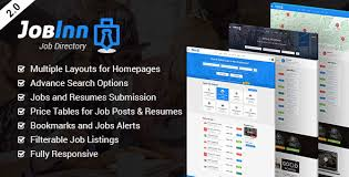 Jobinn Job Board Directory Html Template Uxfree Com