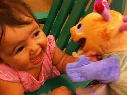Zoe and the Puppet | Posted via email from enriquecrosby's p… | Enrique  Crosby | Flickr