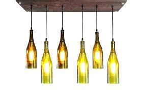 wine bottle chandelier kit glass jar win a cutter to make