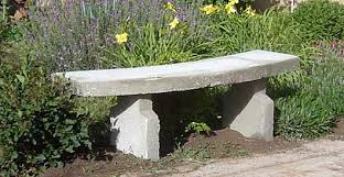 garden concrete bench for sitting diy project how to make plans