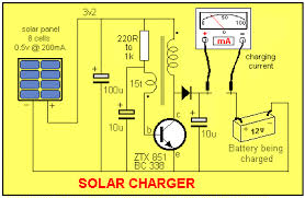 solar charger you can now see how the circuit works it generates a voltage higher than the battery voltage and that s how it can deliver energy to the battery