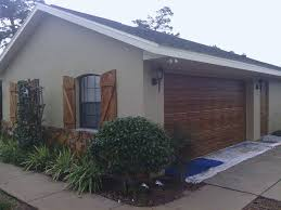 faux wood shutters exterior faux wood garage door matching window shutters ocala faux
