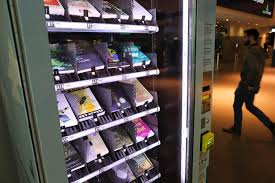 Airport Insurance Vending Machines Simple There's Now A Book Vending Machine At Billy Bishop Airport The Star