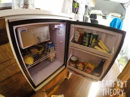 the isoterm fridge in my 4x4 sprinter camper van buildout get more info in this