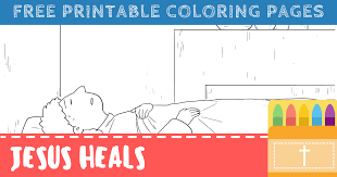 This activity can be used in a sunday school, classroom or homeschool setting. Free Printable Jesus Heals Coloring Pages For Kids Connectus