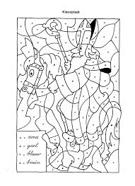 Sinterklaas Kleurplaat Makkelijk Woyaoluinfo