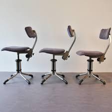 president office chair gispen. 3 X Model 360 Office Chair By Christoffel Hoffmann For Gispen, 1950s President Gispen W