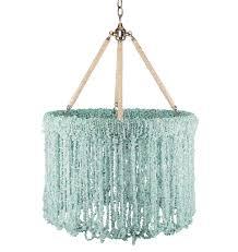 lily 24 inch turquoise chip quartz